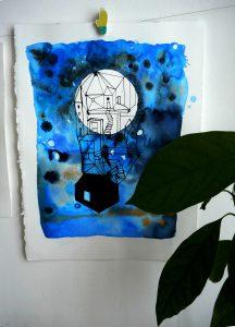Home on the Moon I original