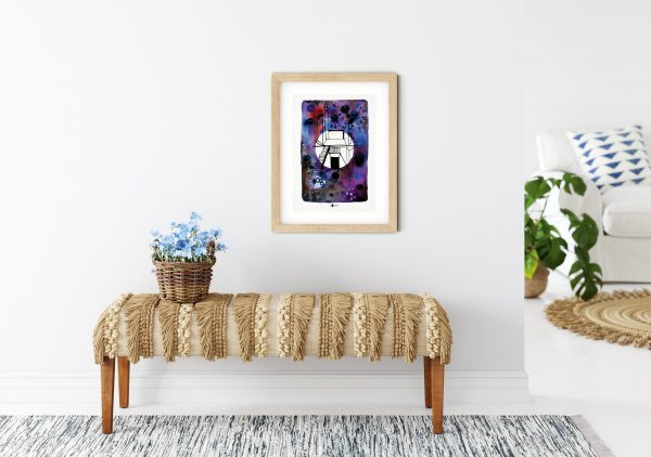Home on the Moon III - print